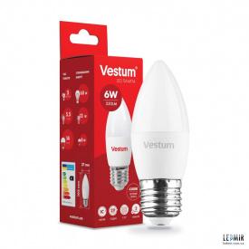 Світлодіодна лампа Vestum C37 6W-E27-4100K