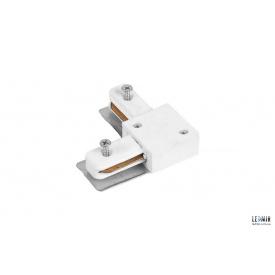 Конектор кутовий для шинопровода однофазного Feron LD1001 білий