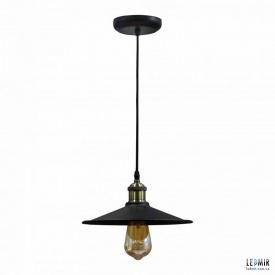 Потолочный подвесной светильник NL 117-260 DOME черный