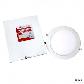 Світлодіодна панель ElectroHouse 18W-4100К кругла