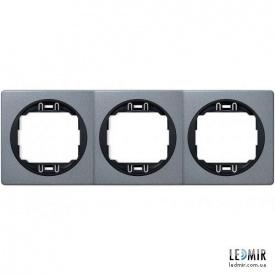 Рамка трехместная Aling-Conel EON E6703S1E