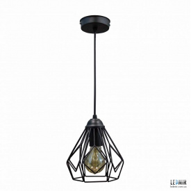 Потолочный подвесной светильник NL 538 GRID черный