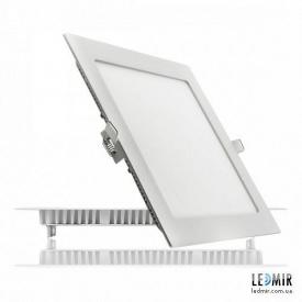 Светодиодный светильник Lezard Квадрат Downlight 24W-6400K