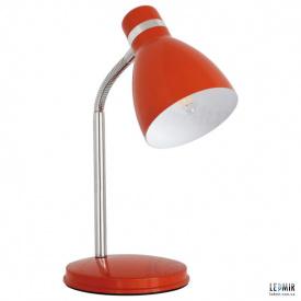 Настольная лампа Kanlux Zara HR-40-OR Е14-10W Оражнжевая