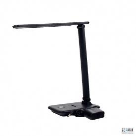 Светодиодная настольная лампа ElectroHouse 10W-2700-6500K Черный