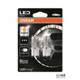 Светодиодная автолампа Osram W21/5W 12V 1,5W W3x16Q комплект (2шт)