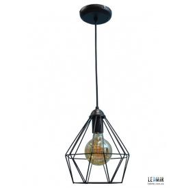 Потолочный подвесной светильник NL 0537 GRID черный