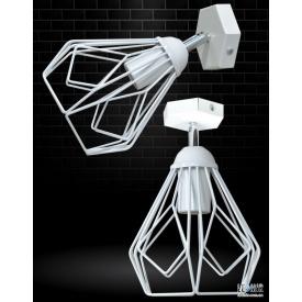 Накладной светильник NL 538-1W GRID белый