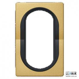 Рамка одноместная для 2-й розетки Aling-Conel EON E6805GE