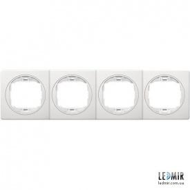 Рамка четырехместная Aling-Conel EON E6704,00