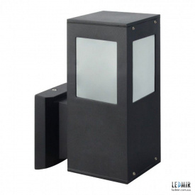Фасадный садово-парковый светильник Horoz KAVAK/SQ-2 черный