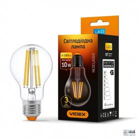 Светодиодная лампа Videx Filament A60 10W-E27-4100K