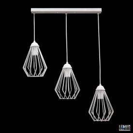 Потолочный подвесной светильник NL 05371-3W GRID белый