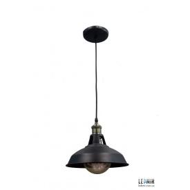 Потолочный подвесной светильник NL 265 DOME черный