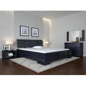 Двуспальная кровать из дерева Сосны Домино 160х200 щит