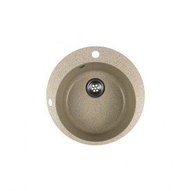 Гранітна мийка Idis Fusion №1 490 Fashion Gray