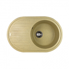 Гранітна мийка Idis Vectra №4 770x500 Dune