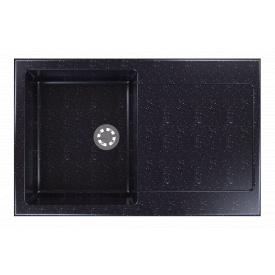 Гранітна мийка Idis Carex №2 780x500 Black