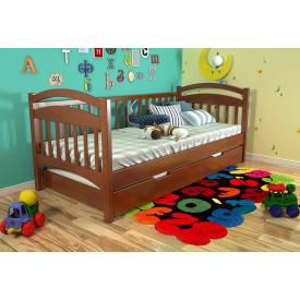 Ліжко з масиву Сосни Аліса Арбор 90х200