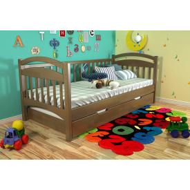 Кровать из массива Сосны Алиса Арбор 90х200 Орех