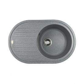 Гранітна мийка Idis Vectra №4 770x500 Fashion Gray