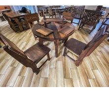 Деревянная мебель из массива термо дерева от производителя, комплект Furniture set - 42