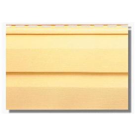 Сайдинг панель KANADA Плюс Престиж жовта 3660х230х1,1 мм