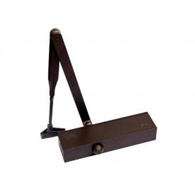 Доводчик дверной DORMA TS Profil EN2/3/4 комплект до 100 кг до 1250 мм коричневый