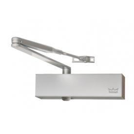 Доводчик дверной DORMA TS 73 V EN 2-4 BCA без тяги до 80 кг до 1100 мм серебро
