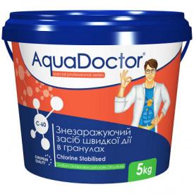 Шок хлор AquaDoctor C-60 5 кг. в гранулах
