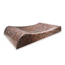 Раковина з натурального каменю Граніт-Поліс 70х37х10 см