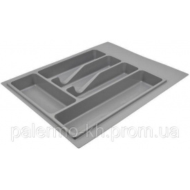 Поддон для вилок, ложек и ножей Volpato серый 390х490 мм