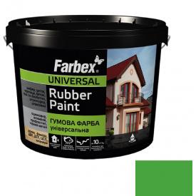 Гумова фарба Farbex світло-зелена (6 кг)