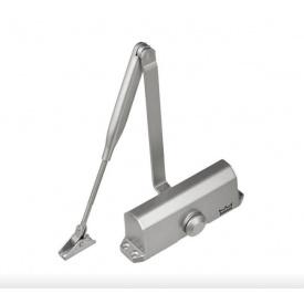 Доводчик дверной DORMA TS 77 EN3 до 60 кг до 1100 мм с ножницами серебро