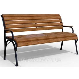 Парковая скамейка Соната 830х690х1500 мм