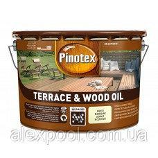 PINOTEX TERRACE & WOOD OIL Тонируемое атмосферостойкое деревозащитное масло 3 л
