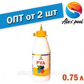 Eskaro LIIM PVA 0,75 л Универсальный клей ПВА для внутренних работ-для бумаги картона кожи тканей керами