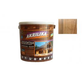 Пропитка акриловая для дерева Akrilika орех 2 л