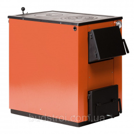 Котел на твердом топливе Макситерм 20 кВт с варочной плитой