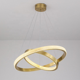 Светодиодная люстра с пультом д/у Saturn Gold 120W 600х400мм 30кв/м