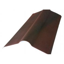 Коник для черепиці ONDULINE коричневий 1м