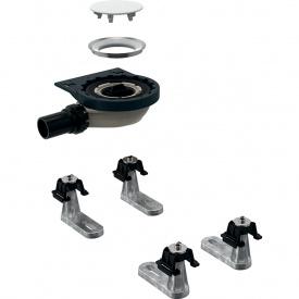 Сифон для душевых поддонов Geberit с четырьмя ножками для душевого поддона Setaplano d40 мм 154.020.00.1