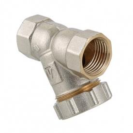Фильтр механической очистки косой c заглушкой 1/2 Valtec VT.193.N.04
