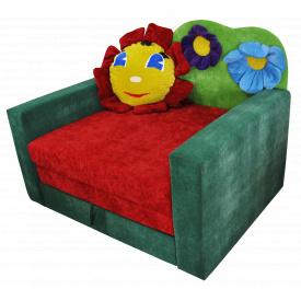 Малютка диван Ribeka Лужок Алый (01M013)