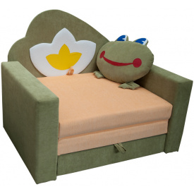 Малютка диван Ribeka Лягушка Зеленый (01M103)