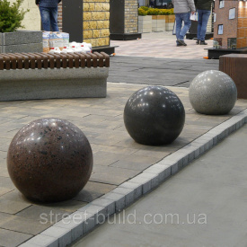 Сфера Антипарковочный элемент Золотой Мандарин 600 Стандарт серый