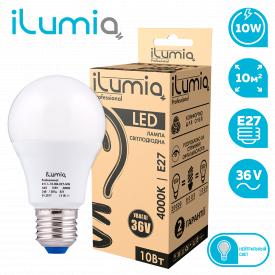 Светодиодная лампа ilumia 011 L-10-MO-E27-NW-36 1000Лм 10Вт 36В 4000К