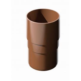 Муфта труби Verat Техноніколь коричнева