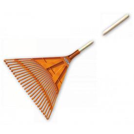 Грабли веерные Bradas 24 зубца черенок деревянный KT-CX24B