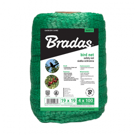 Сетка защитная Bradas BIRD NET 4х100 м AS-BN10191940100